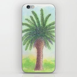 Palm tree on Zante iPhone Skin