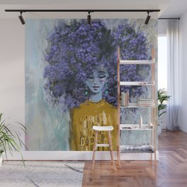 California Lilac Wall Mural