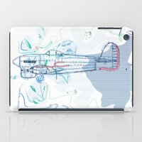 underwater iPad Cases featuring Underwater by March Hunger