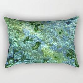 Turqoise Malachite Rectangular Pillow