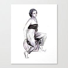 Gypsy Lover Canvas Print
