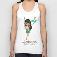 friendship Tank Tops featuring friendship by Elisandra