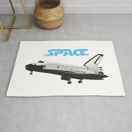 Space Shuttle Rug
