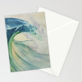 Incoming Energy Wave Stationery Cards