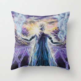 Time to Test the Limits Throw Pillow