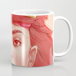 Red girl with horns Coffee Mug