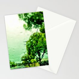 A rainy day in Orange County. Stationery Cards