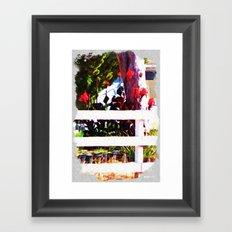 Over the Fence Framed Art Print