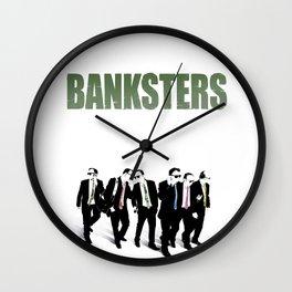 Banksters Wall Clock