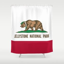 Jellystone National Park  Shower Curtain