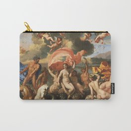 The Birth of Venus by Nicolas Poussin (1635) Carry-All Pouch