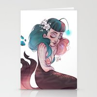 scorpio Stationery Cards featuring Scorpio by Laia™