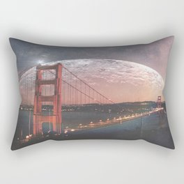 Goldie at sunset Rectangular Pillow