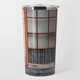 Window Shutters Travel Mug