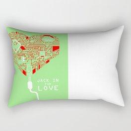 Jack In For Love Rectangular Pillow