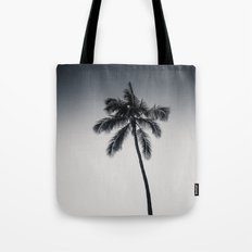 palm tree ver.black Tote Bag
