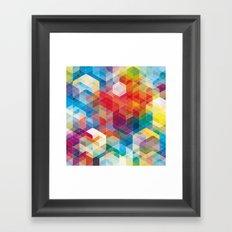 Cuben Curved #5 Framed Art Print