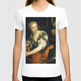 "Veronese (Paolo Caliari) ""Judith with the Head of Holophernes"" T-shirt"