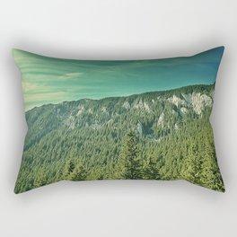 fir forest hills Rectangular Pillow