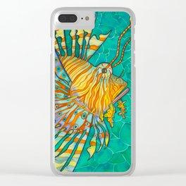 Beautiful Sting Clear iPhone Case