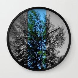 Tree On Seaside Wall Clock