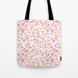 Fragmented Sunrise Tote Bag