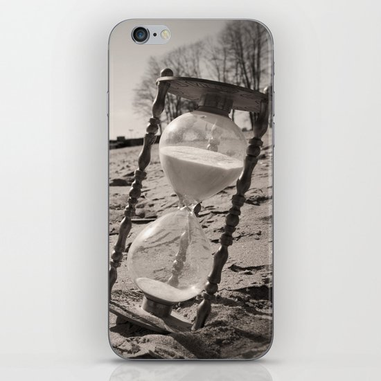 """""""Our memories of the ocean will linger on, long after our footprints in the sand are gone."""" iPhone Skin"""