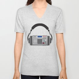 Executive Groove Sampler-Head [ MPC Only ] Unisex V-Neck