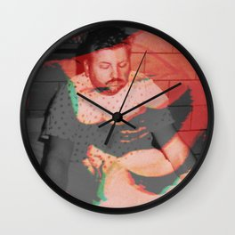 Goodbye Pogo Wall Clock