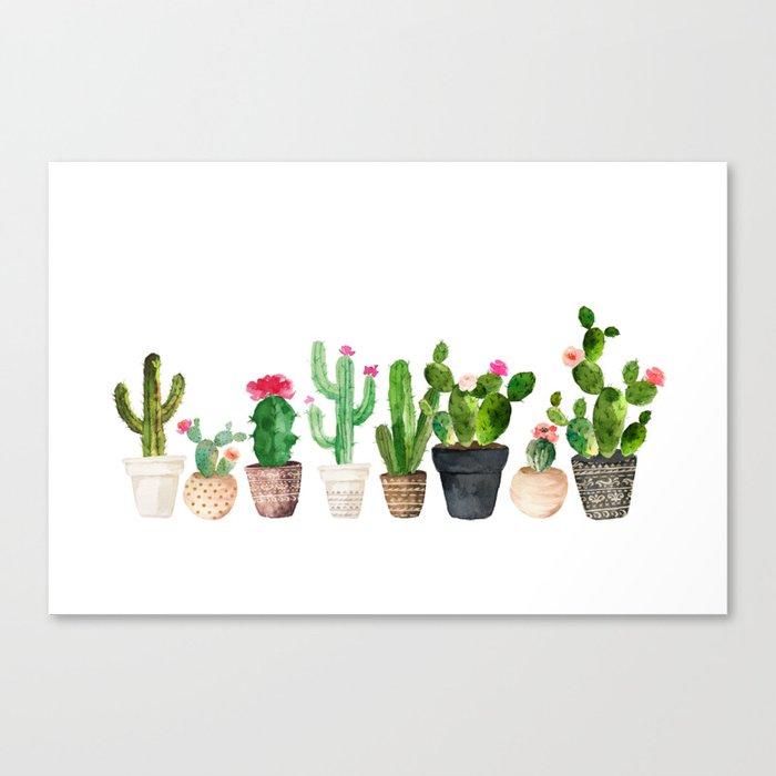 Cactus Leinwanddruck