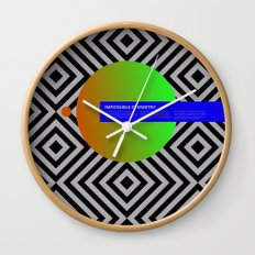 Impossible Symmetry - Circle Wall Clock