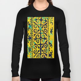 Tribal pattern. Nomadic art Long Sleeve T-shirt
