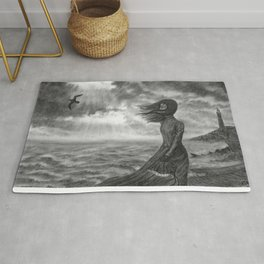 The Lighthouse Keeper's Daughter Rug
