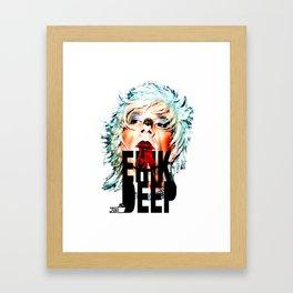TOILET CLUB #erikdeep Framed Art Print
