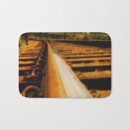 Rusted rail Bath Mat