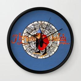Bosch Funnel Hat Bird Wall Clock