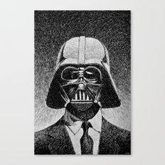 Darth Vader portrait #2 Canvas Print