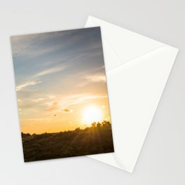 Ocaso en la marisma Stationery Cards