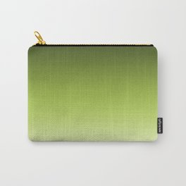 Olive ,green , Ombre Carry-All Pouch