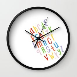 Rainbow Song Wall Clock