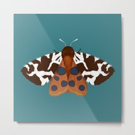 Garden Tiger Moth Metal Print