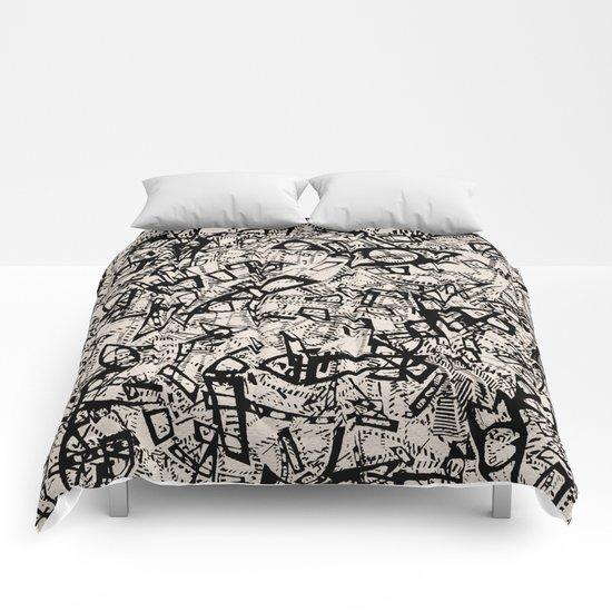 - newspaper - Comforters