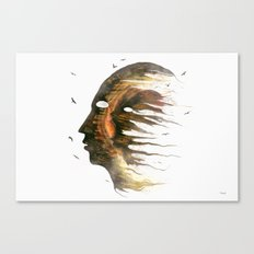Invisible Demons  Canvas Print