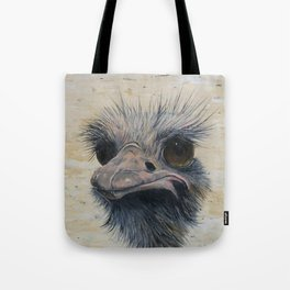 Ostrich, Ostrich Painting, by Faye Tote Bag