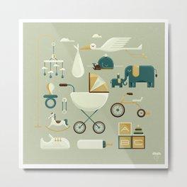 NURSERY Metal Print