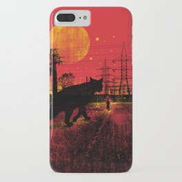 Cleo in the Dark iPhone Case