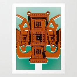 Mechanical 12 Art Print
