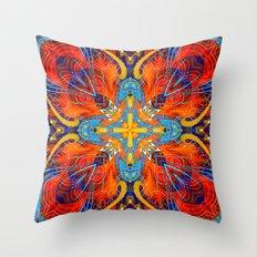Mandala #6 Throw Pillow