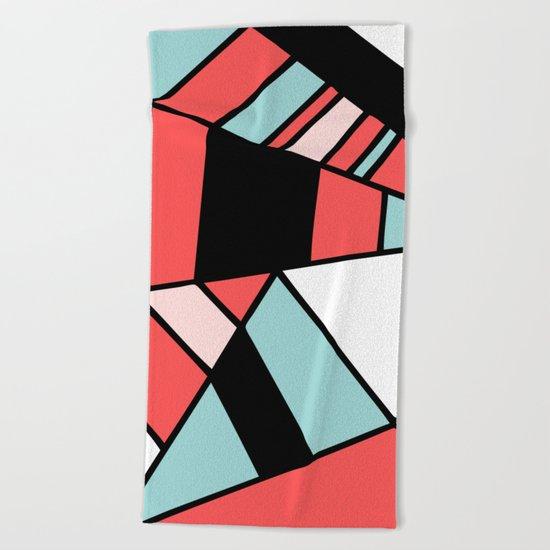 Abstract #451 Beach Towel