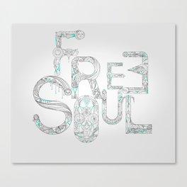 Free Soul Canvas Print